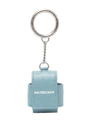 Balenciaga logo-print Airpods case