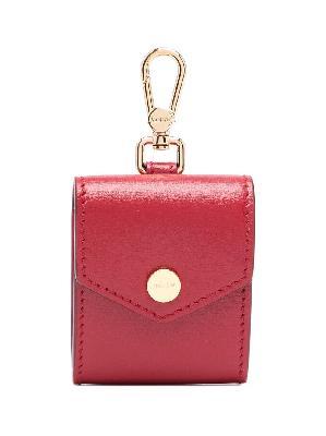 Bally Sanny leather earphone case