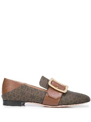 Bally Janelle monogram loafers