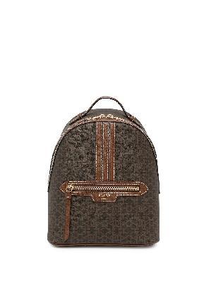 Bally Daffi monogram print backpack