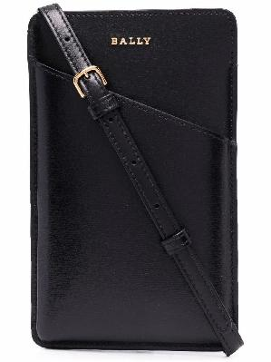 Bally Livya leather phone pouch
