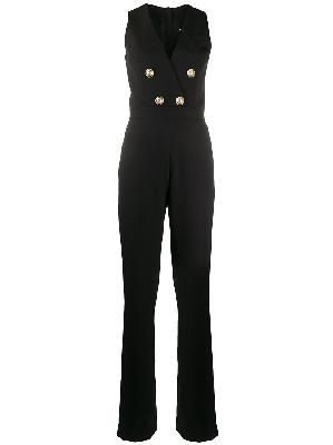 Balmain double-breasted tailored jumpsuit