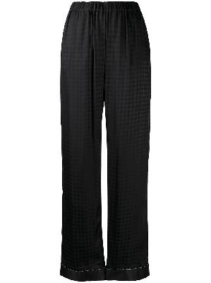 Balmain geometric pattern pajama bottoms
