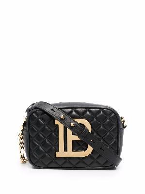 Balmain B-Camera leather bag