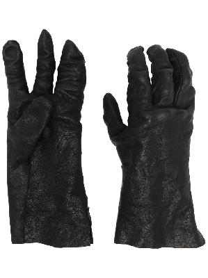 Boris Bidjan Saberi full-finger leather gloves