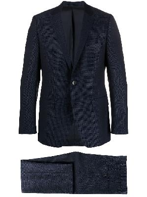 BOSS single-breasted slim-fit suit