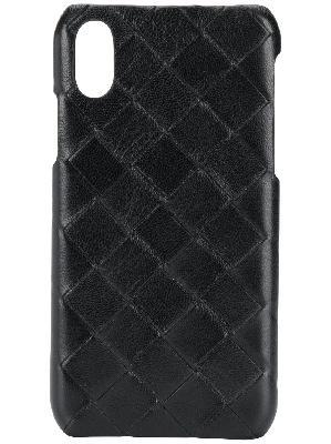 Bottega Veneta Intrecciato iPhone XS phone case