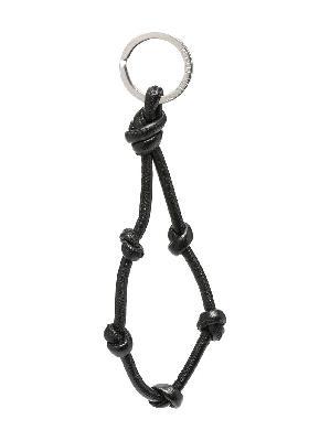 Bottega Veneta knotted-strap keyring