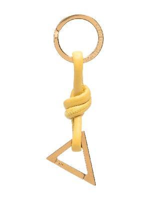 Bottega Veneta triangle key charm
