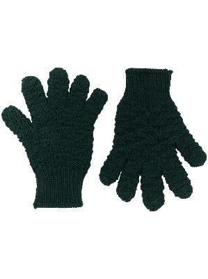 Bottega Veneta handknitted textured gloves