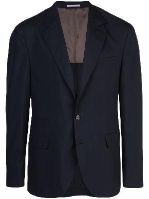 Brunello Cucinelli V-neck suit jacket
