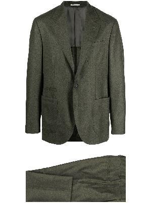 Brunello Cucinelli virgin wool single-breasted suit