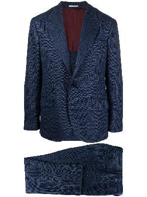 Brunello Cucinelli herringbone suit