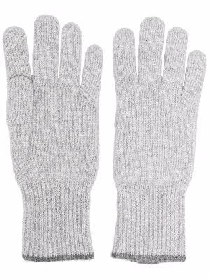 Brunello Cucinelli knitted cashmere gloves