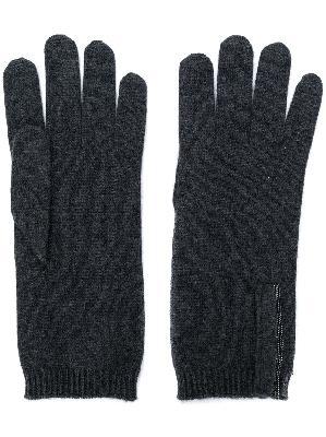 Brunello Cucinelli cashmere knitted gloves