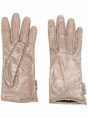 Brunello Cucinelli slip-on fitted gloves