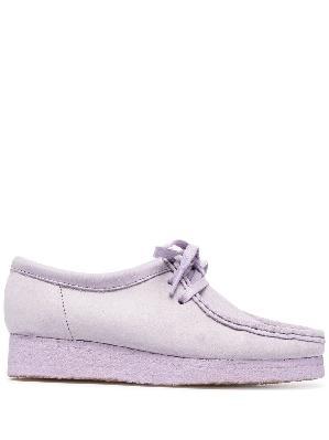 Clarks Originals Wallabee suede lace-up shoes