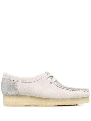 Clarks Originals Wallabee leather lace-up shoes