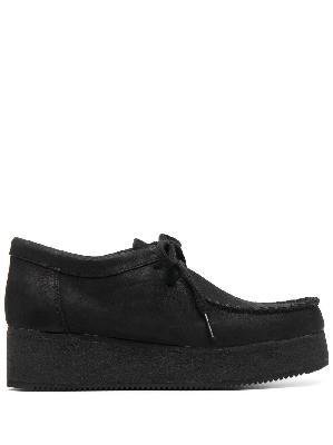 Clarks Originals platform lace-up shoes