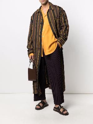 Cmmn Swdn belted striped robe