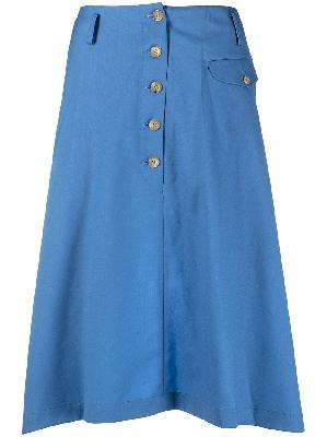 Comme Des Garçons Homme Plus deconstructed midi skirt