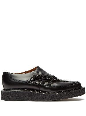 Comme Des Garçons Homme Plus x George Cox Creeper leather shoes