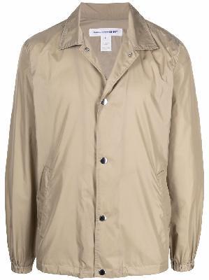 Comme Des Garçons Shirt x Yue Minjun printed coach jacket