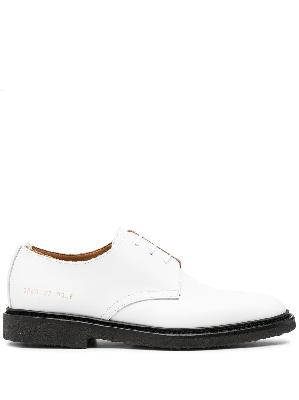 Common Projects colour block lace-up Oxford shoes