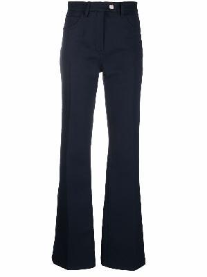 Courrèges high-waist wide-leg trousers