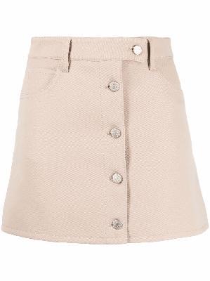 Courrèges Workwear mini skirt