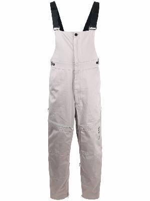 Diesel patch-pocket green-label jumpsuit