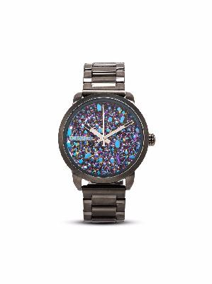 Diesel stone-embellished watch