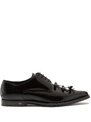 Dolce & Gabbana bow-detailed derby shoes