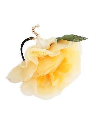 Dolce & Gabbana flower appliqué tie