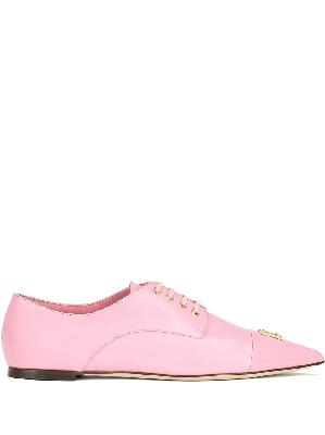 Dolce & Gabbana pointed Derby shoes
