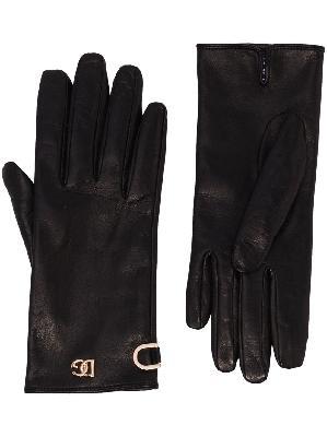 Dolce & Gabbana logo detail gloves