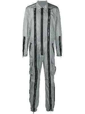 Dsquared2 multi-zip straight-leg jumpsuit