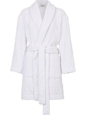 Fendi FF-embossed cotton robe