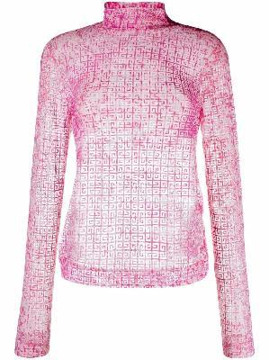 Givenchy 4G-print long-sleeve top