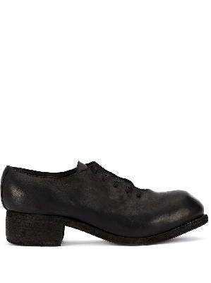 Guidi chunky heel shoes