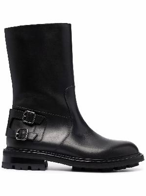 Jimmy Choo Roscoe leather biker boots