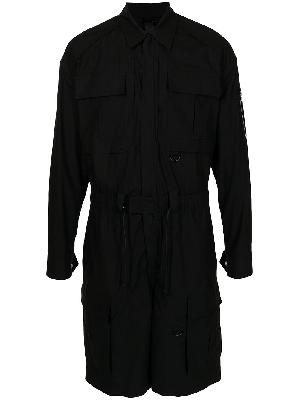 Juun.J knee-length cotton jumpsuit
