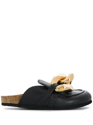 JW Anderson Chain loafer mules