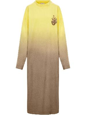 JW Anderson x Moncler Abito logo-patch knit dress