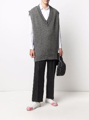 Maison Margiela exposed-seam pullover