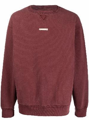 Maison Margiela four-stitch logo sweatshirt