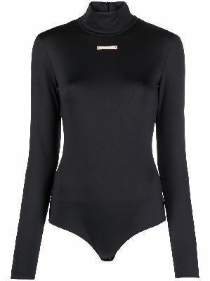 Maison Margiela high-neck long-sleeve bodysuit