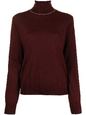 Maison Margiela roll-neck wool jumper