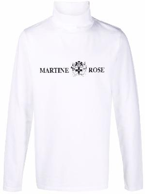 Martine Rose Quiet Riot long-sleeve top