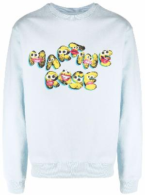 Martine Rose logo-print sweatshirt